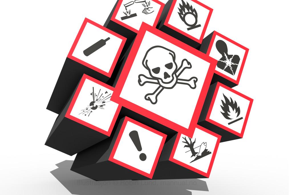 Nye symboler for farlige kjemikalier