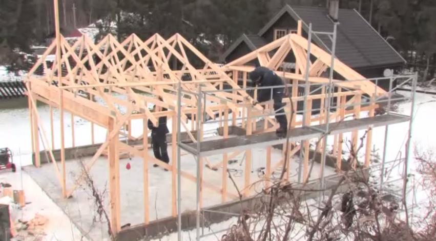 Videomannual: Slik bygger du garasje